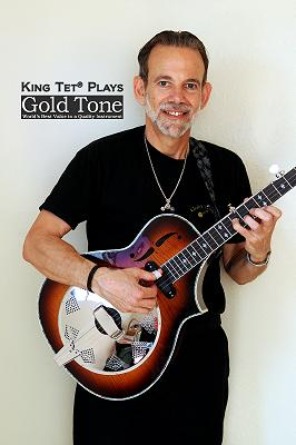 King Tet plays Gold Tone Dojo DLX